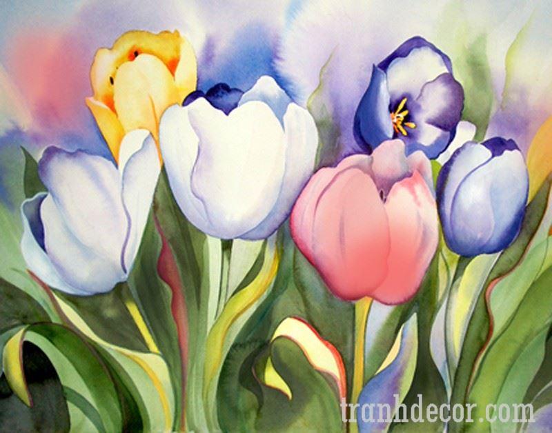 Hoa vẽ