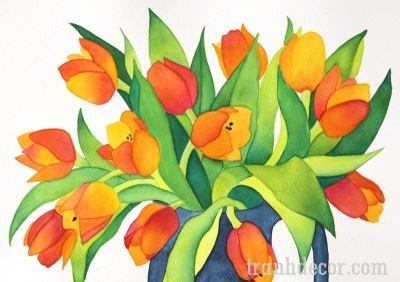 tranh-hoa-tulips (3)