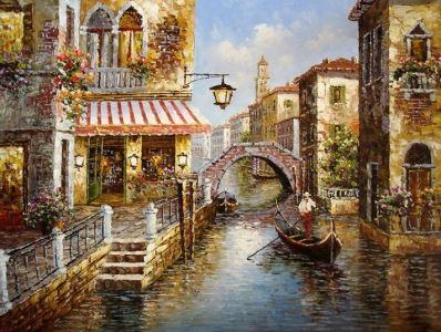 Tranh phong canh Venice