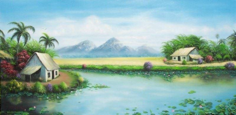 Bức tranh quê