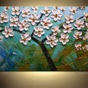 Tranh phong thủy hoa decor