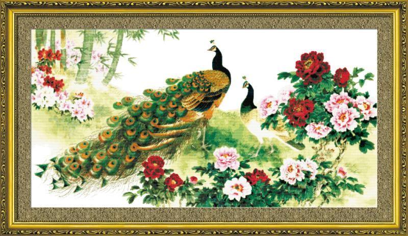 tranh phong thuy phuong hoang