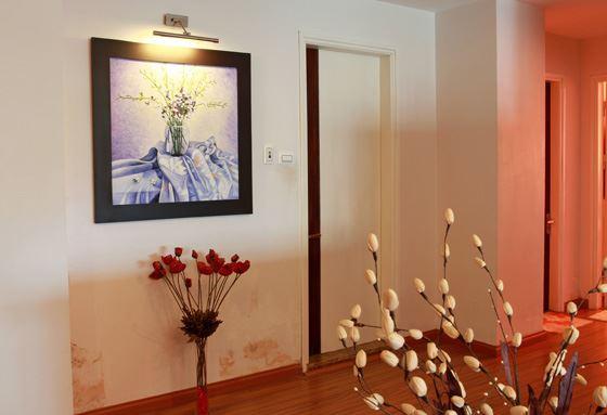 tranh phong canh trang tri hang lang