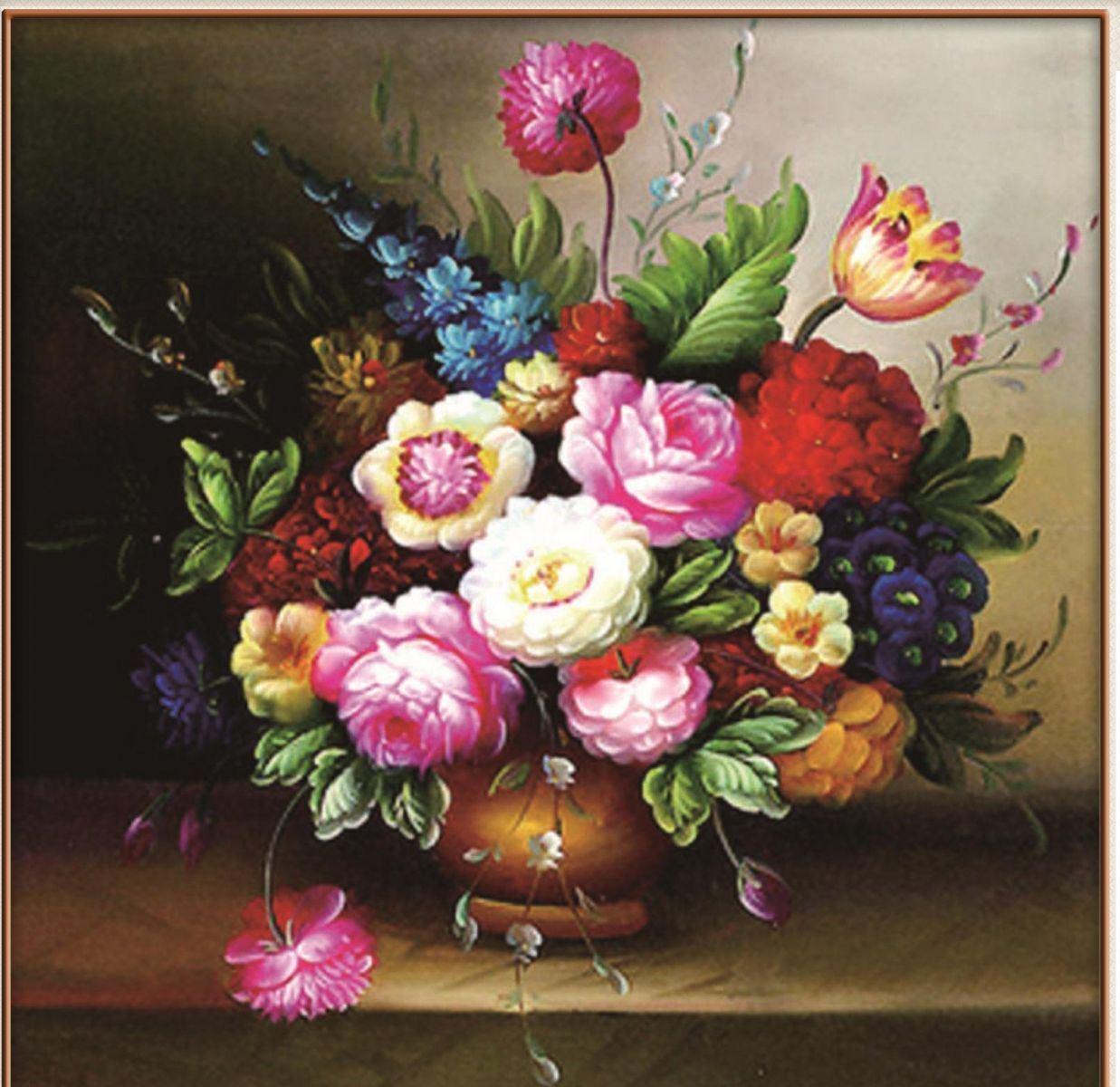 tranh phong thuy binh hoa