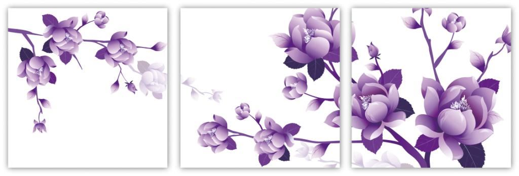 tranh phong thuy hoa lan