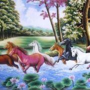tranh phong thuy menh hoa1