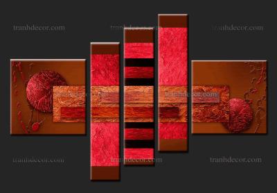 Tranh trừu tượng trang trí nội thất