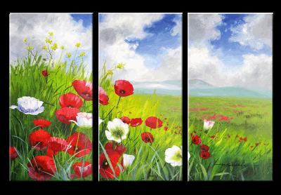 Tranh phong canh hoa lang man