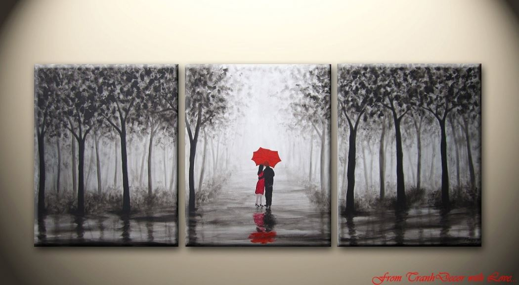 Couple In Rain - Tinh dep trong mua