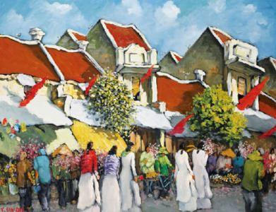 Tranh trang trí tại Hà Nội