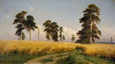 tranh phong cảnh đẹp của họa sĩ Nga Ivan Shishkin